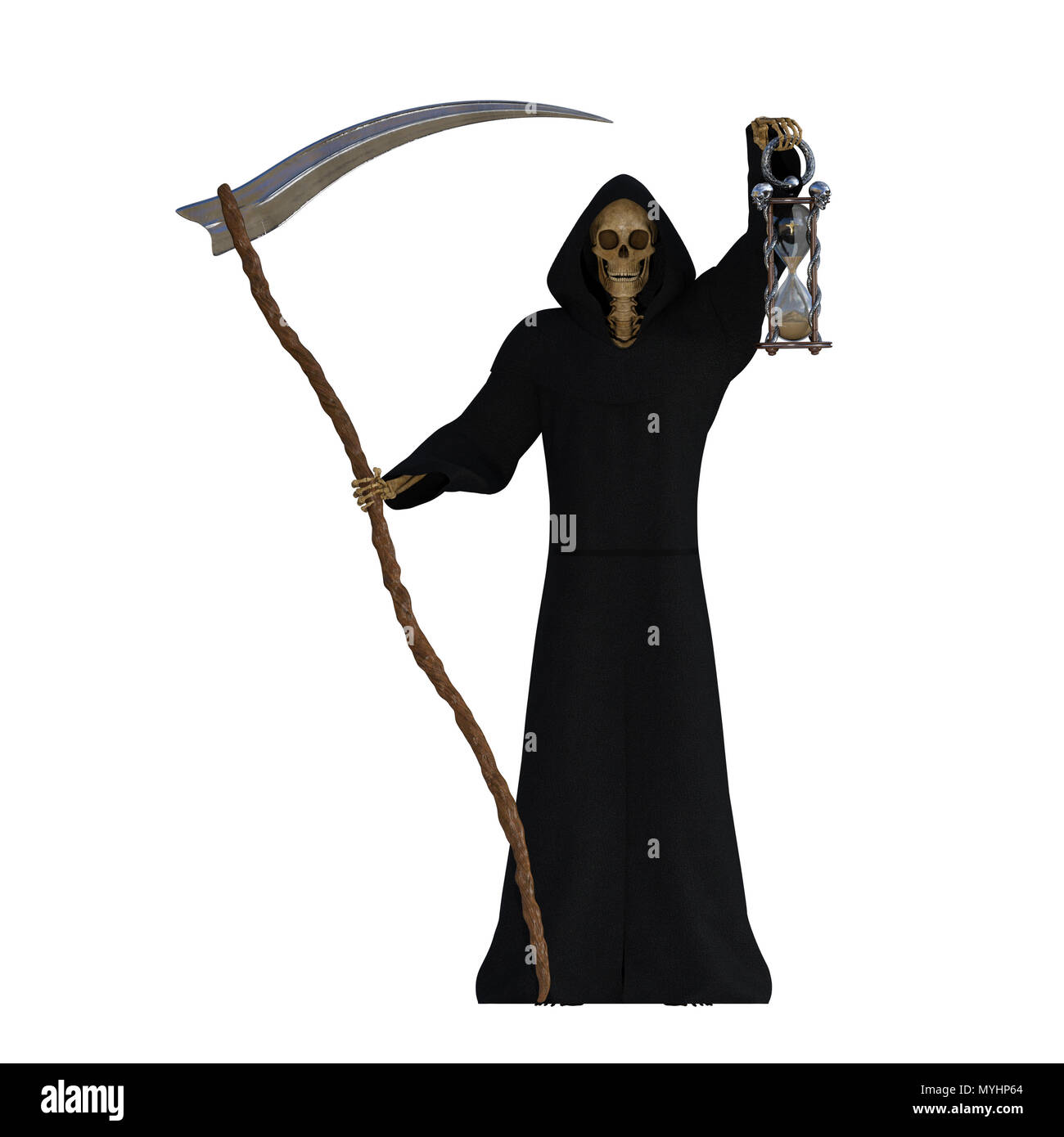 Grim Reaper Hood Cut Out Stock Images & Pictures - Alamy