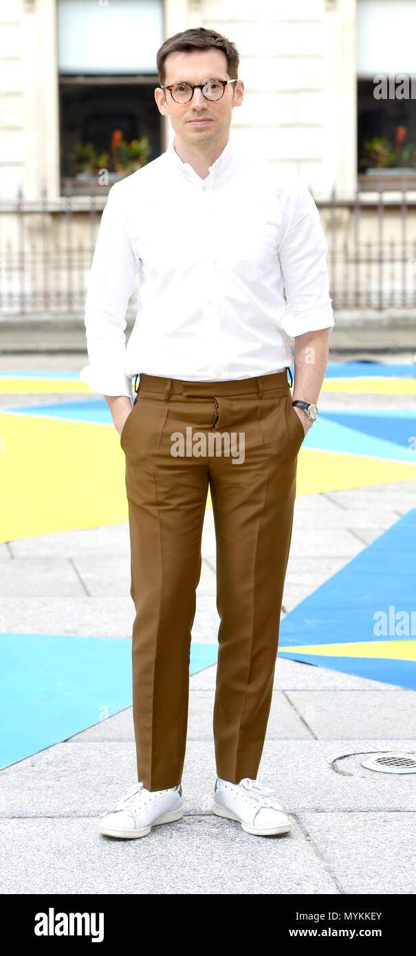 Photo Must Be Credited ©Alpha Press 079965 06/06/2018 Erdem Moralioglu at the Royal Academy of Arts Summer Exhibition Preview Party 2018 in London - Stock Image