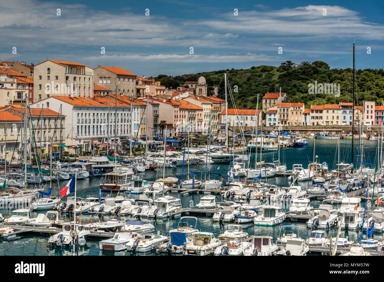 Port-Vendres, Pyrenees-Orientales, France Stock Photo