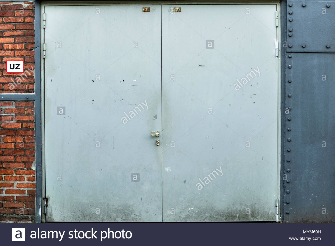 Fire Protective Air Tight Door At A German Factory