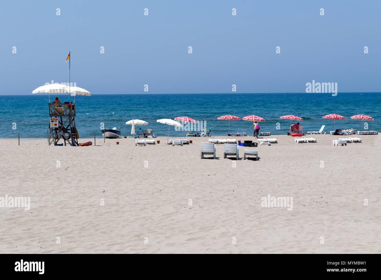 Patara Beach , Kas,  Antalya, Turkey, Middle East - Stock Image