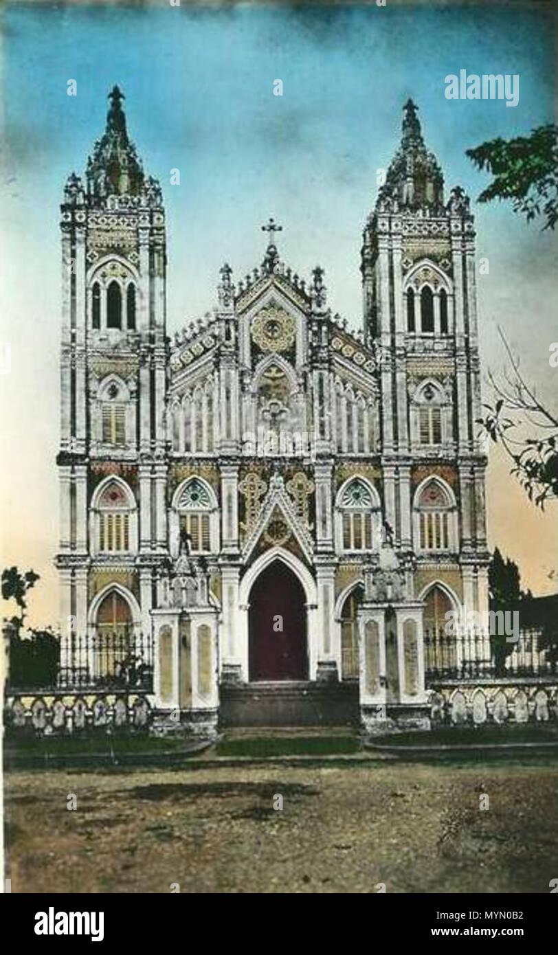 386 Nhà thờ chính tòa Thái Bình - Stock Image