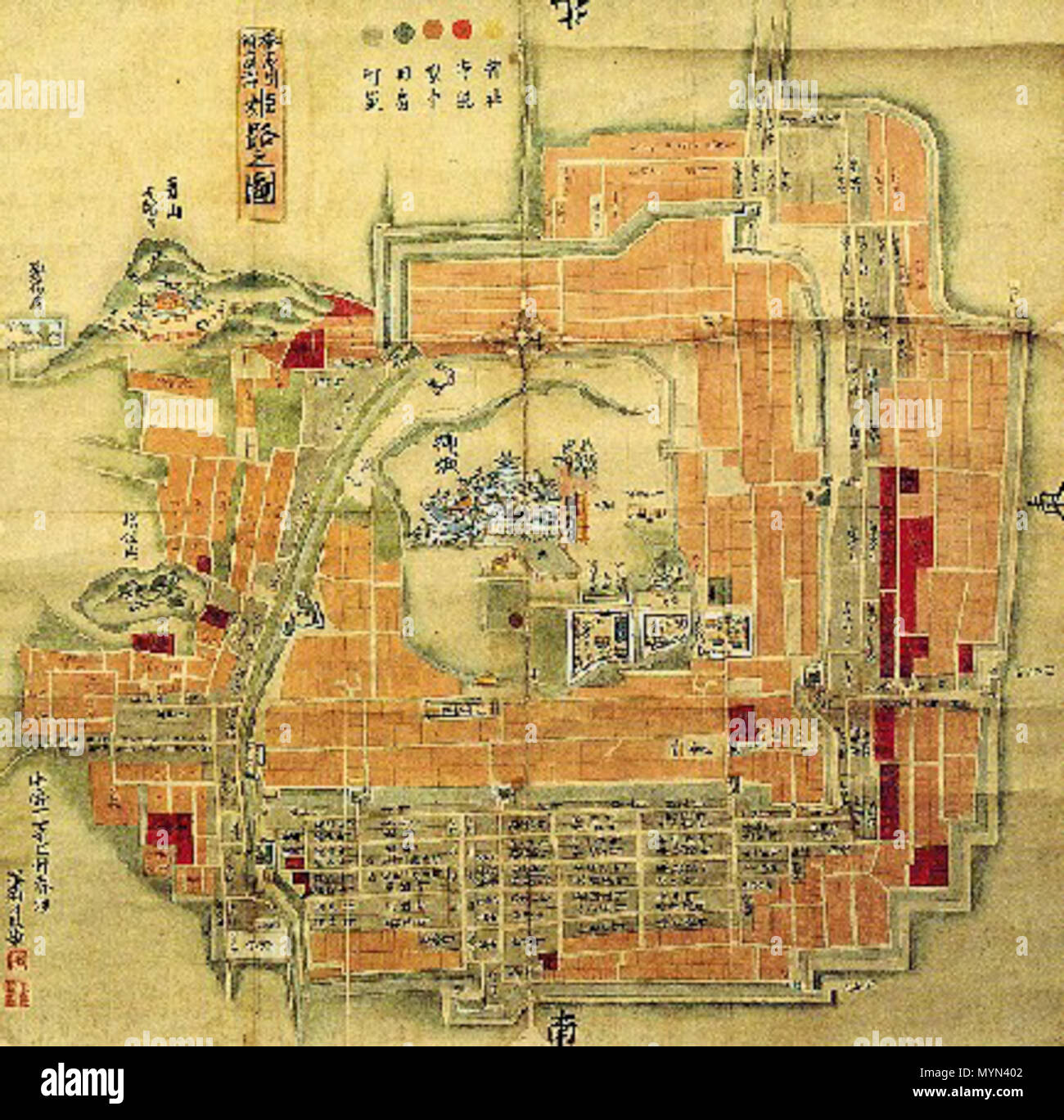 397 Old map of Himeji castle Stock Photo: 189163522 - Alamy Map Of A Castle on map of a school, map of european castles, map of a restaurant, map of castles in england, map of a submarine, map of a dragon, map of a stadium, map of a medieval town, map of castles in germany, map of castles in ireland, elemental air castle, map of a cathedral, map of a volcano, map of a theater, map of a temple, map of a hospital, map of roman ruins, map of a tavern, map of a mountain, map of a mansion,