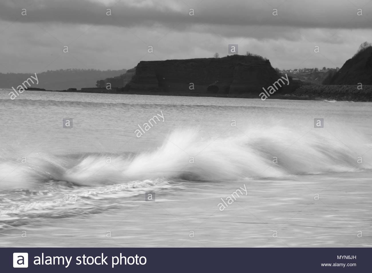 Dawlish Warren Coastline - Stock Image
