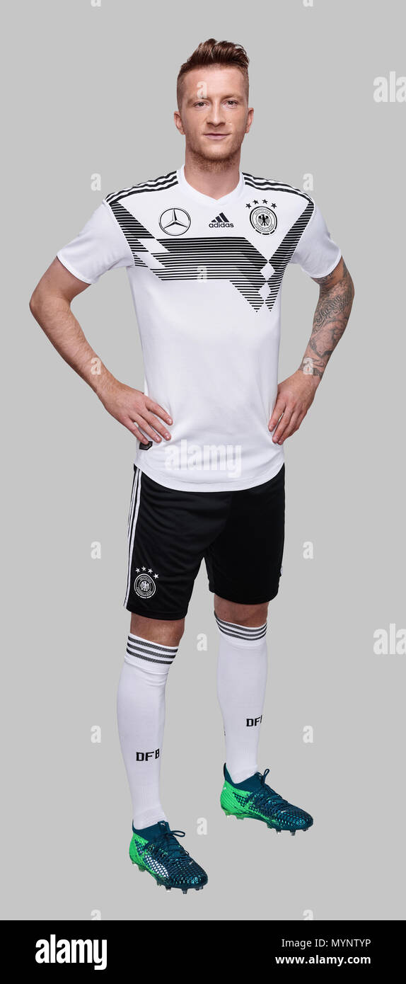 half off 56fd2 09812 Football: Player portraits of team Germany for FIFA World ...