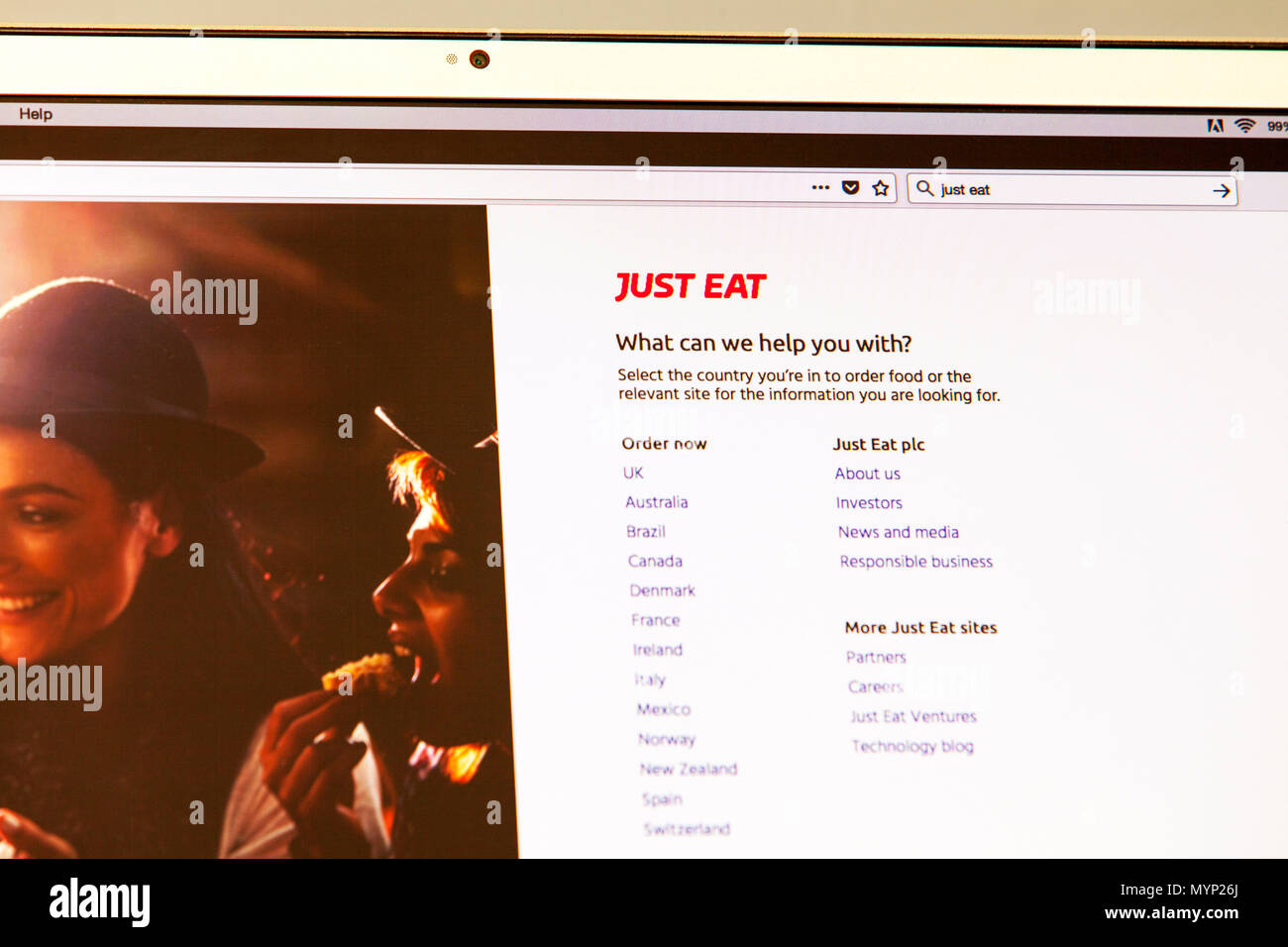 Just Eat Just Eat Uk Just Eat Plc Is An Online Food Order