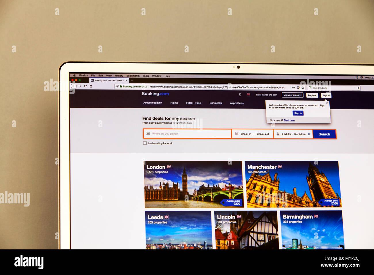 booking  com uk