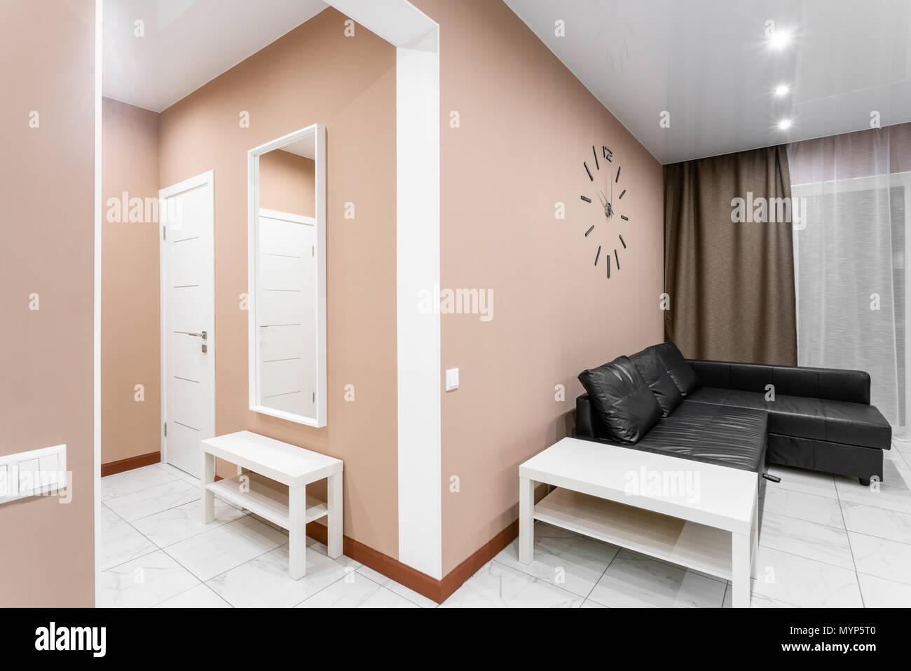 Modern interior in minimalism style
