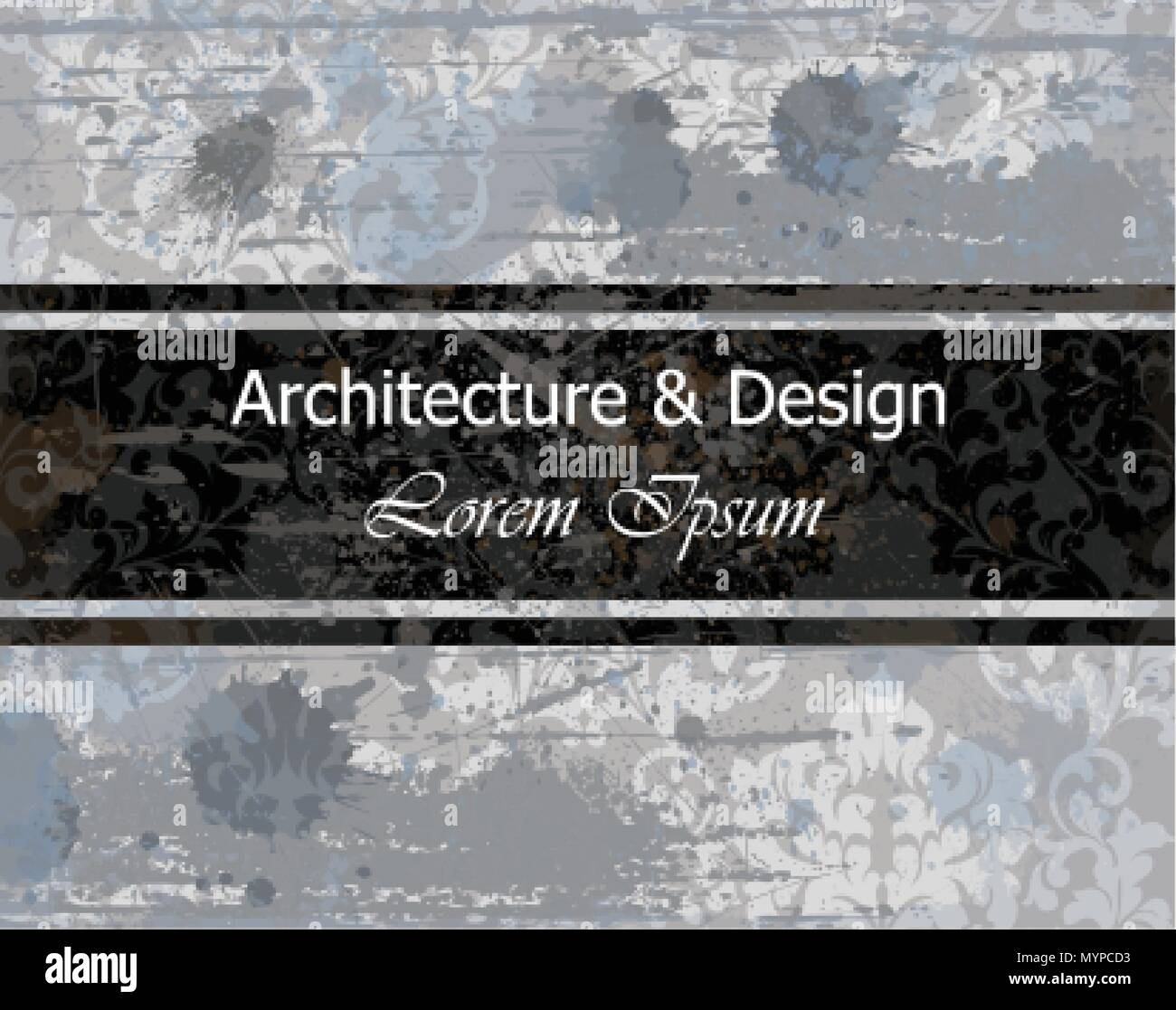 Architecture and design business card old paper background vector architecture and design business card old paper background vector illustrations reheart Gallery