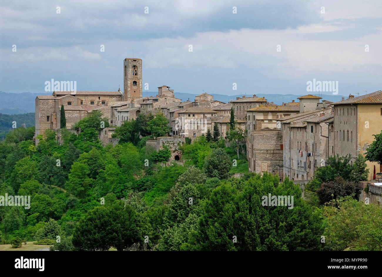colle di val d'elsa, tuscany, italy - Stock Image