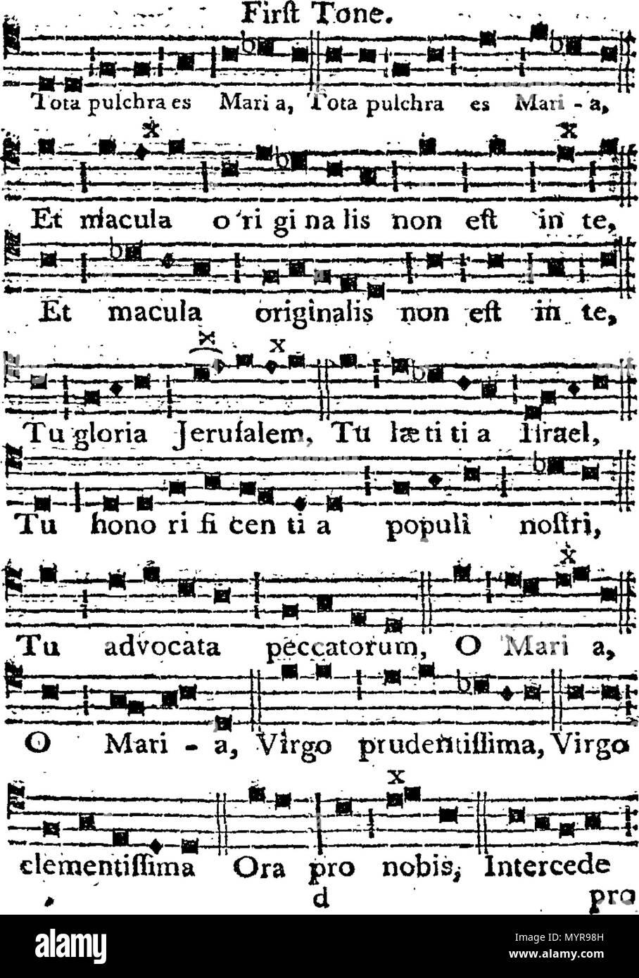 English: Fleuron from book: An essay on the church plain