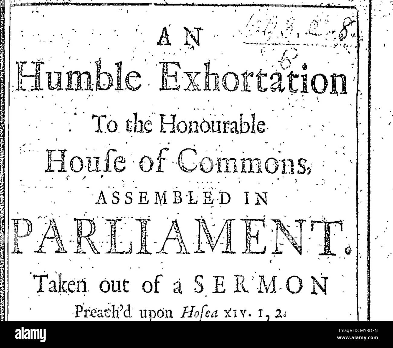 English: Fleuron from book: An humble exhortation to the Honourable