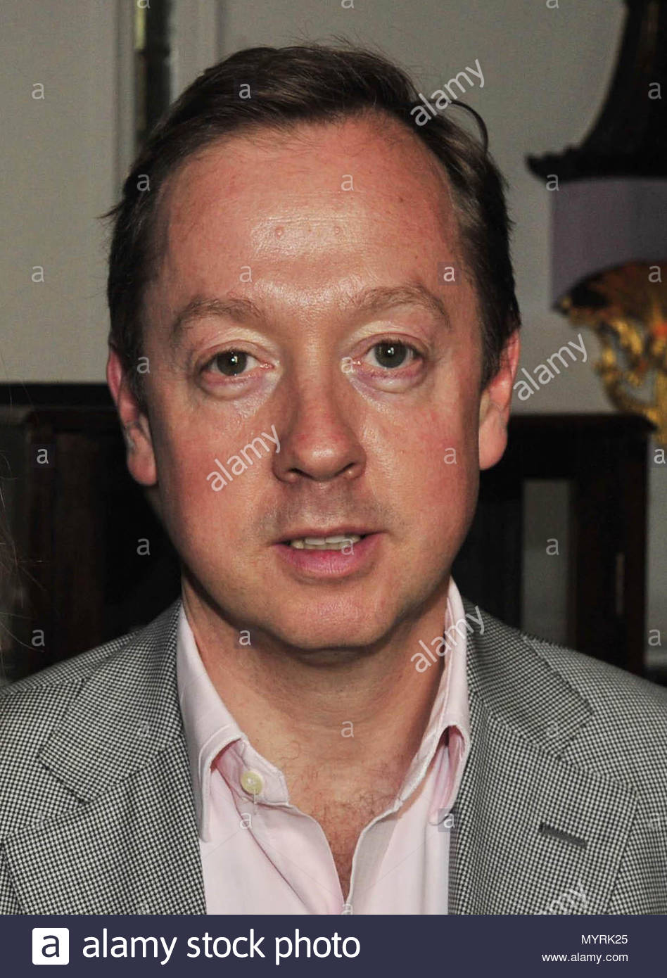 File photo dated 25/5 of Geordie Greig whose appointment as Daily Mail editor follows the announcement on Wednesday that Paul Dacre is to become chairman and editor in chief of Associated Newspapers. - Stock Image