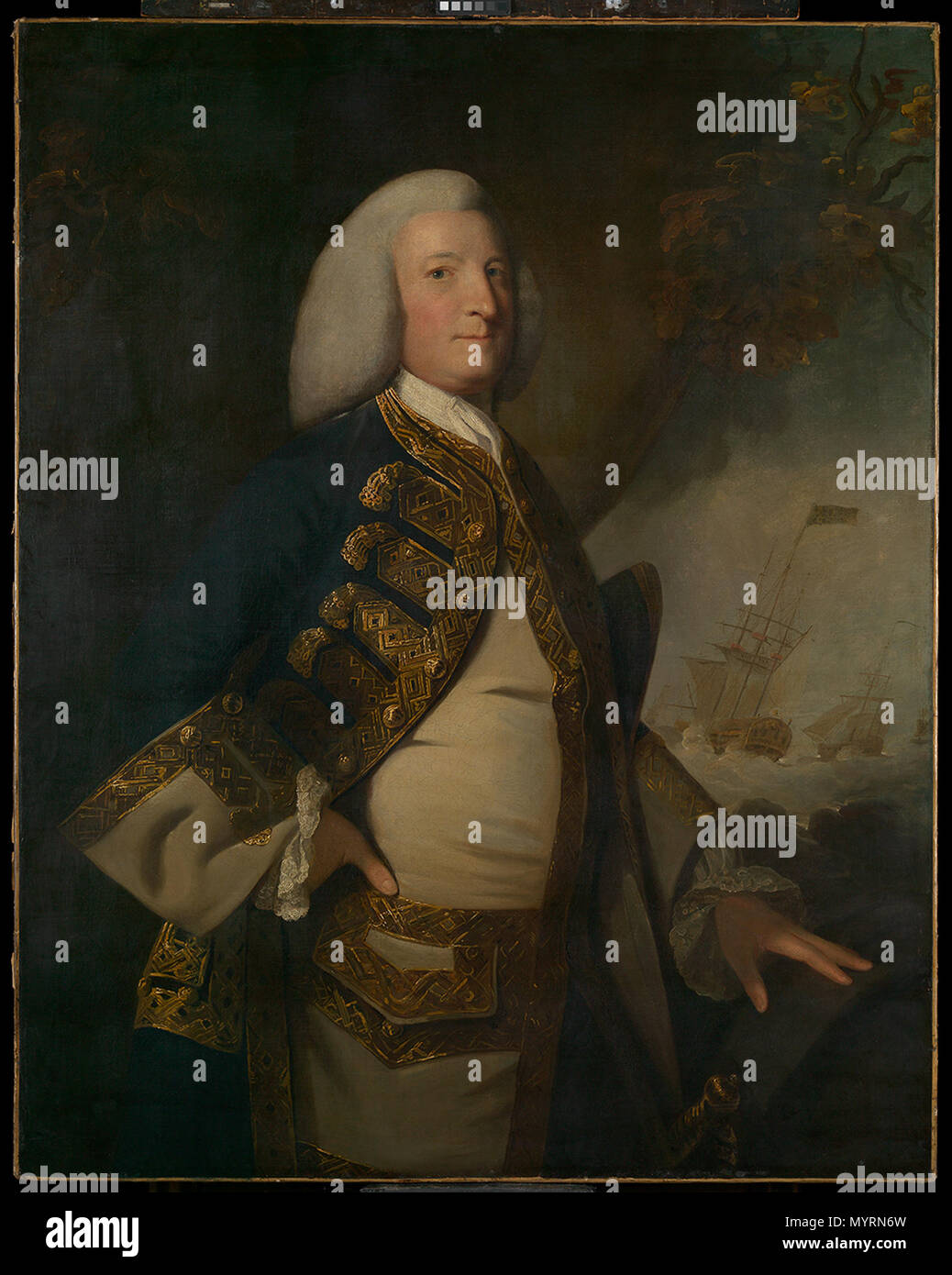 L9759   1697  Style of Joshua Reynolds 267 Admiral Sir