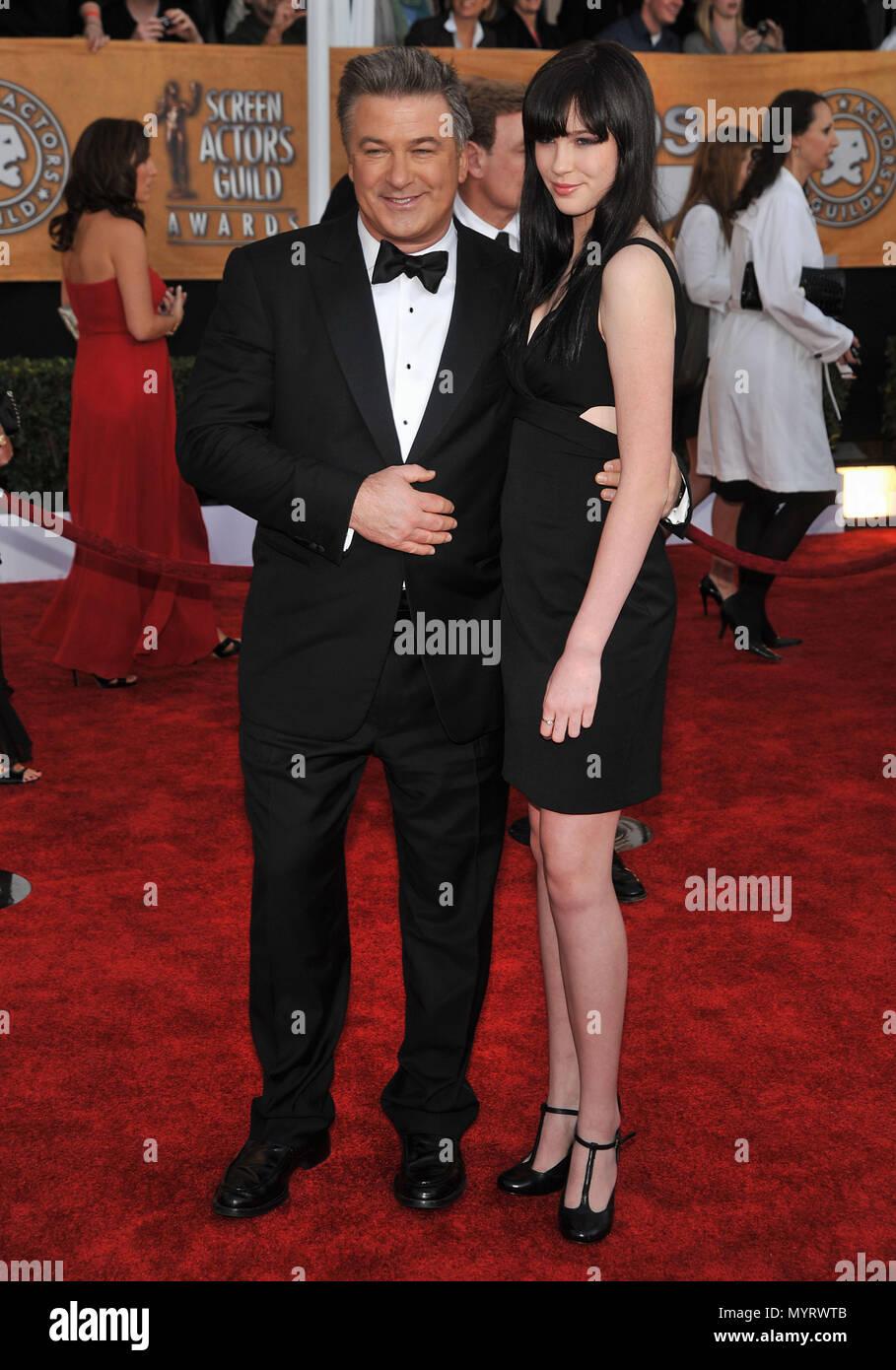 Alec Baldwin And Sosie Baldwin Sag Screen Actor Guild Awards