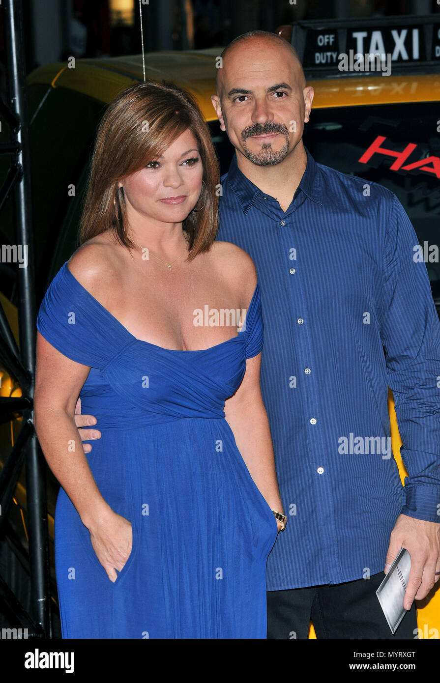 Valerie Bertinelli And Husband Tom Vitale Hancock La Premiere At The Chinese Theatre In Los Angeles