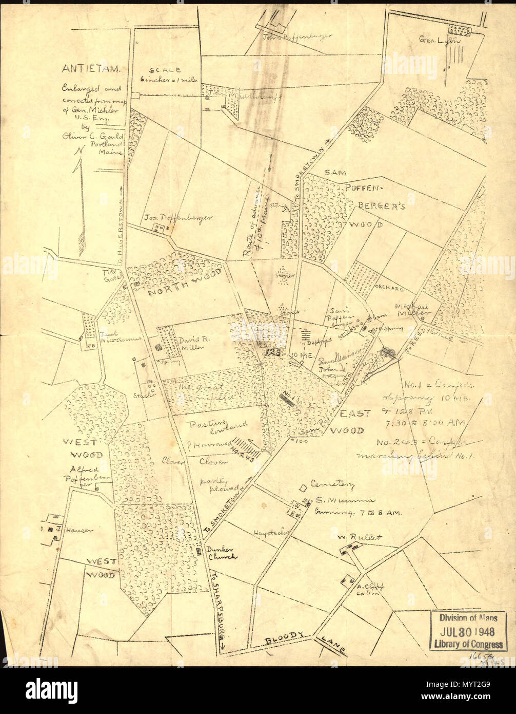 English: Scale not given. LC Civil War Maps (2nd ed ...