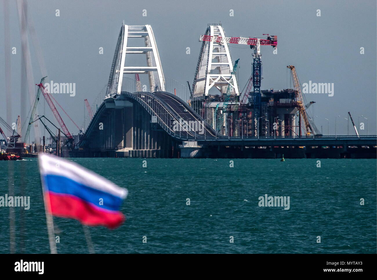 In 2018 Kerch Bridge to the Crimea will be erected 32