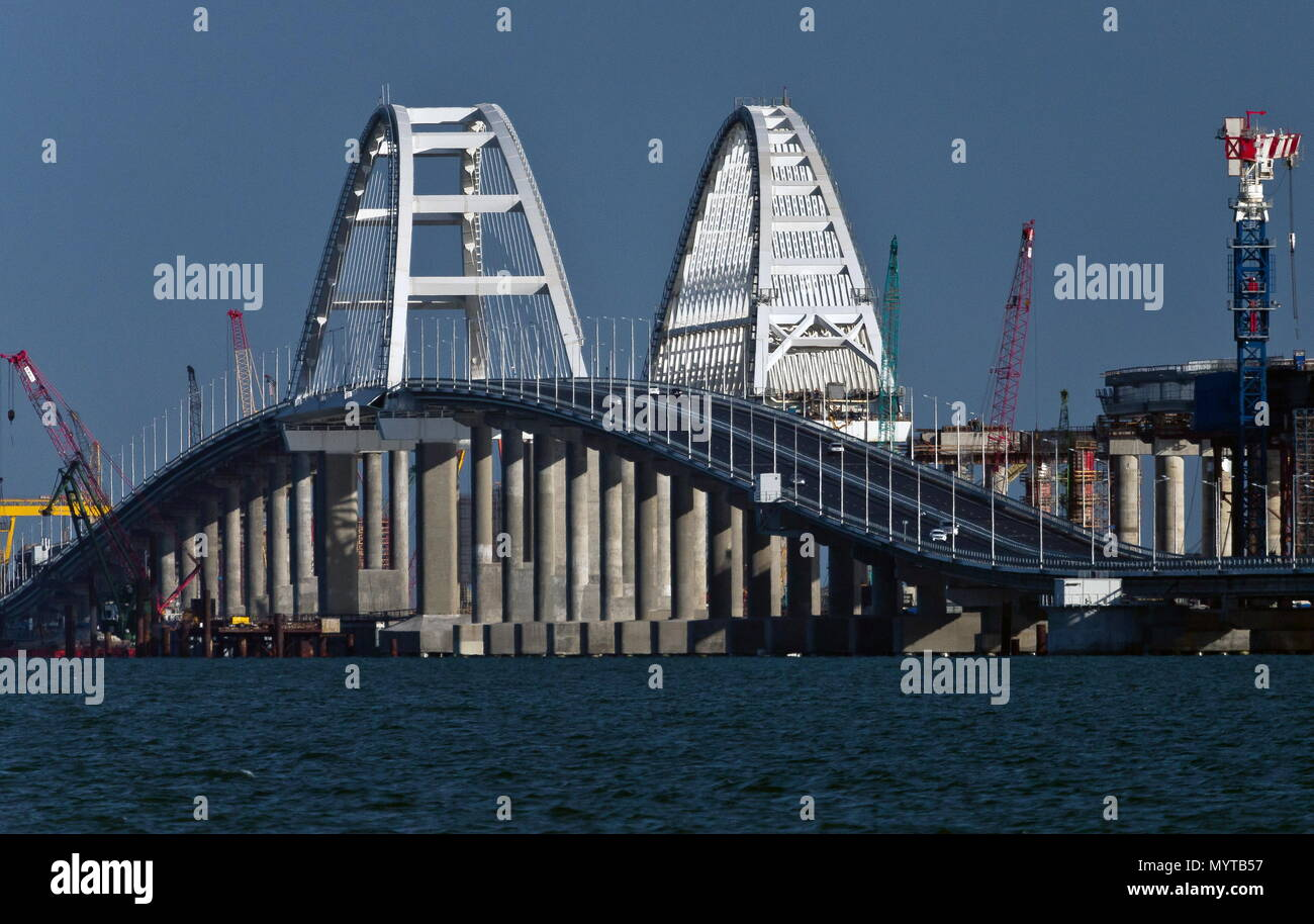 In 2018 Kerch Bridge to the Crimea will be erected 25