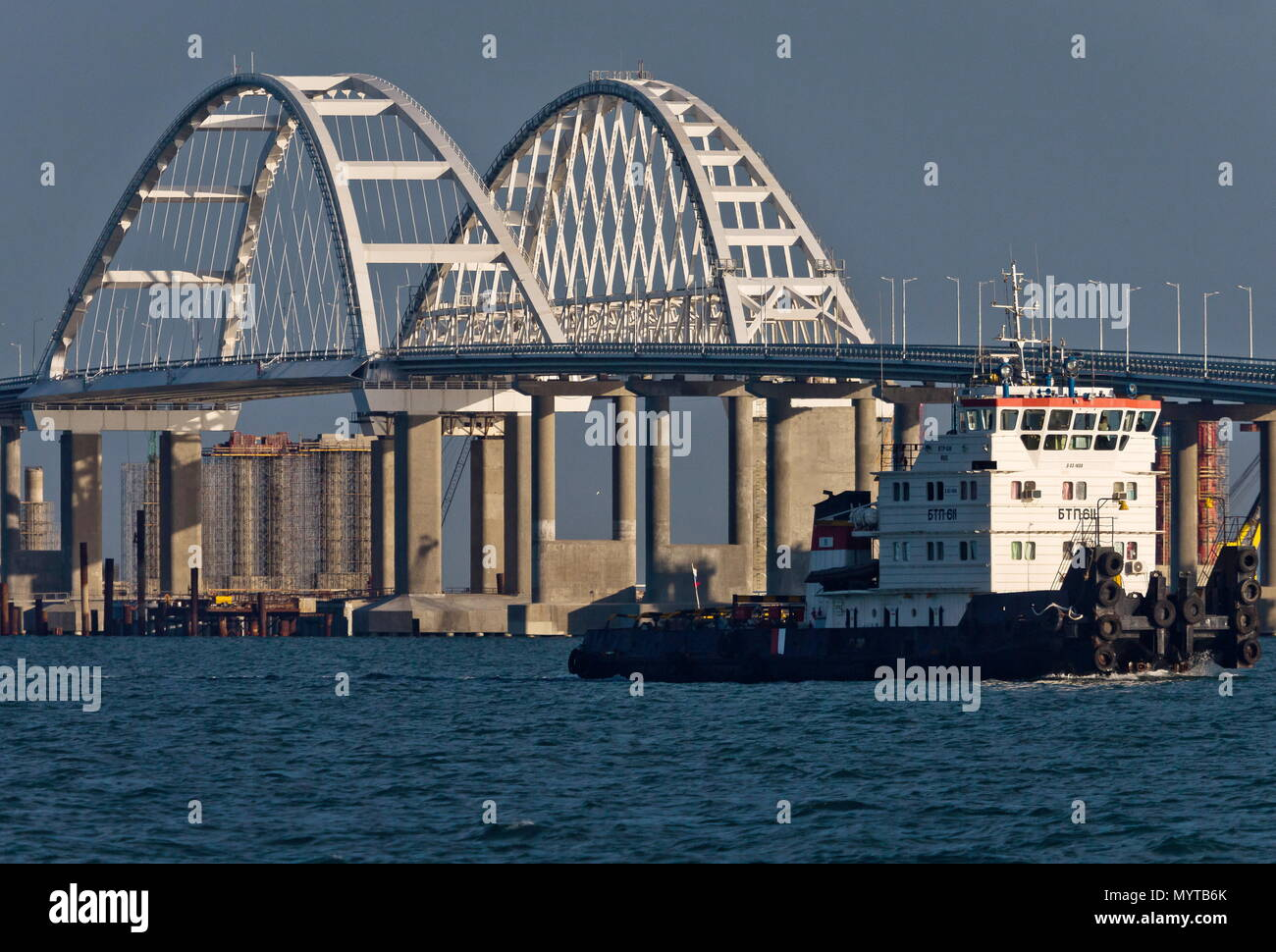 In 2018 Kerch Bridge to the Crimea will be erected 70