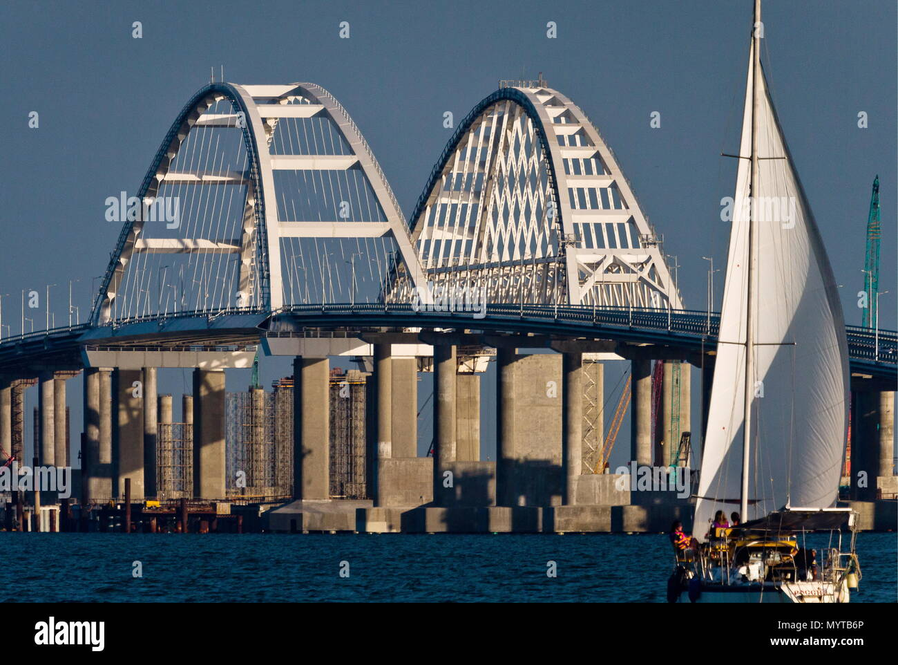 In 2018 Kerch Bridge to the Crimea will be erected 98