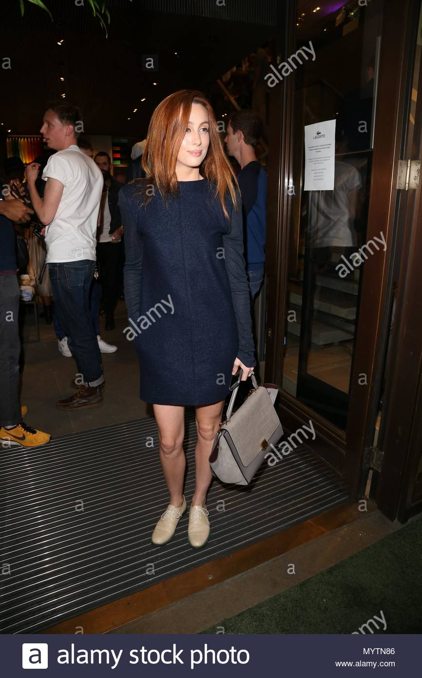 679ecfba691b2e Siobhan Donaghy. Siobhan Donaghy attending the Lacoste store launch ...