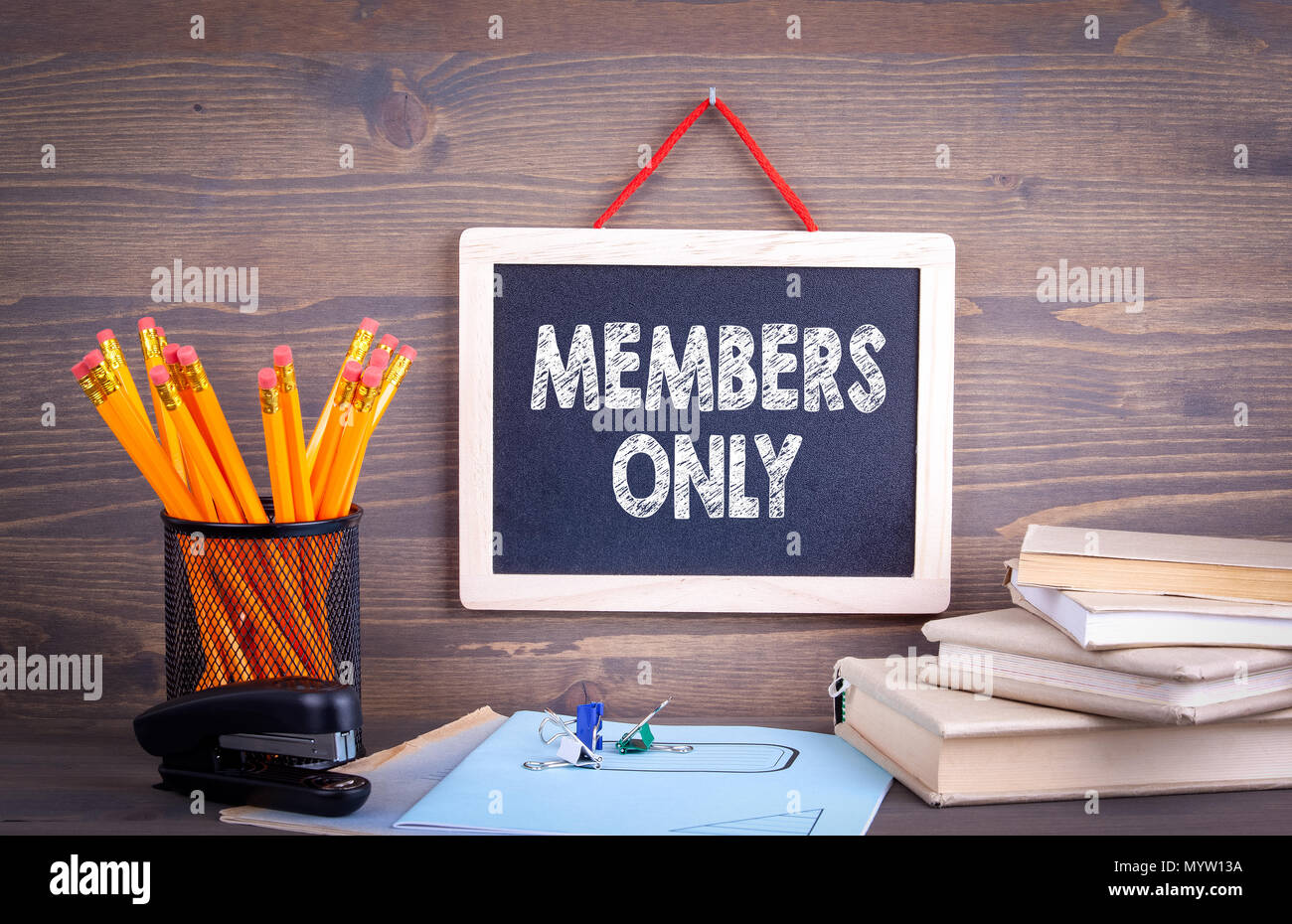 Members only, Business Concept - Stock Image