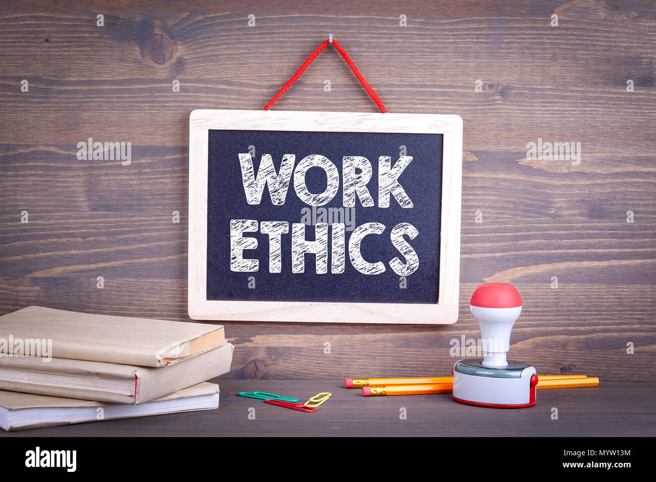 Work ethics, Business Concept - Stock Image