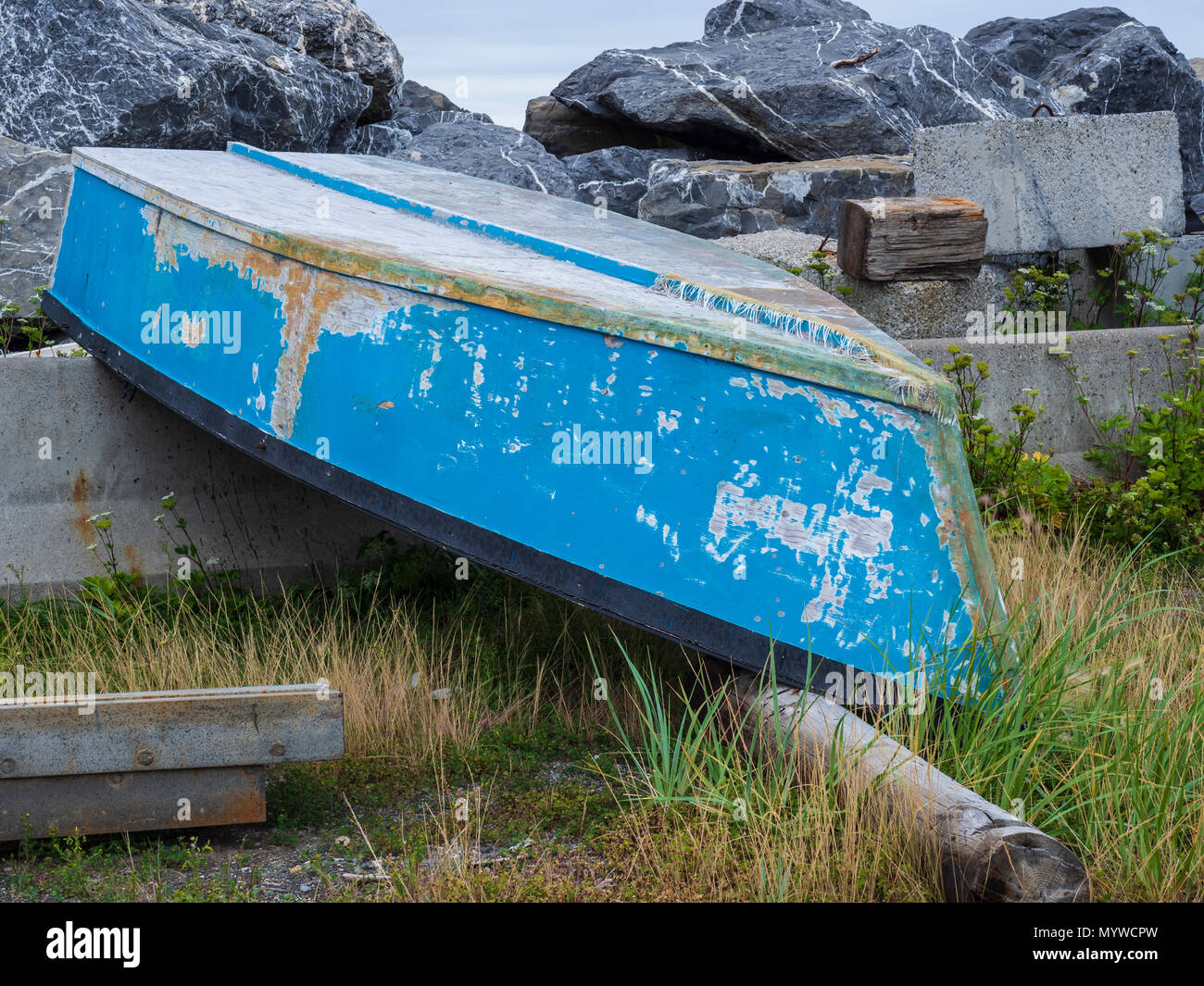 The village of overturned boats