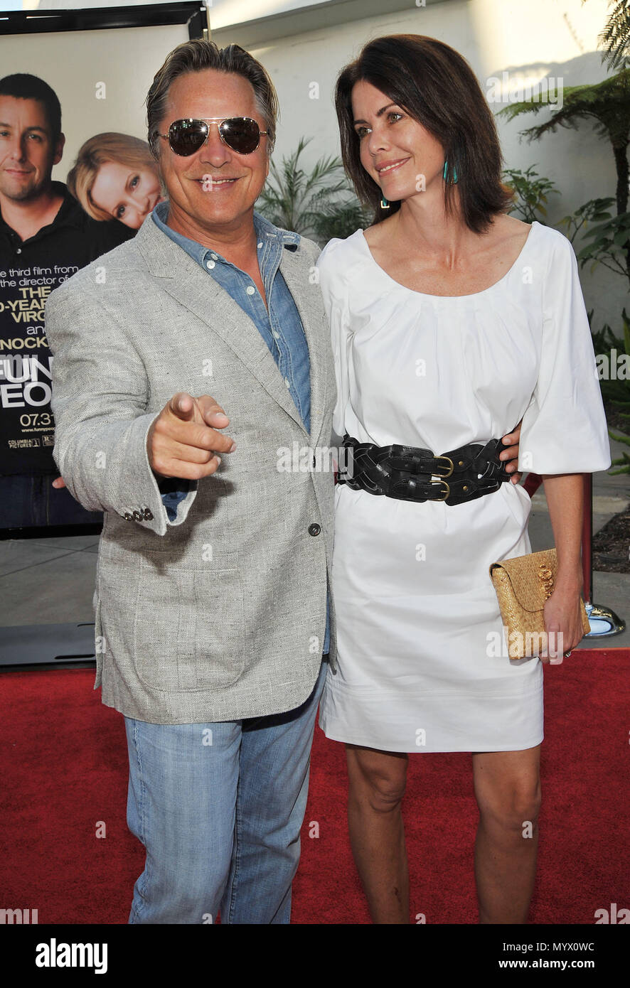 f7aae4122ab4b Don Johnson and wife Kelley Phleger - Funny People Premiere at the Arclight  Theatre In Los