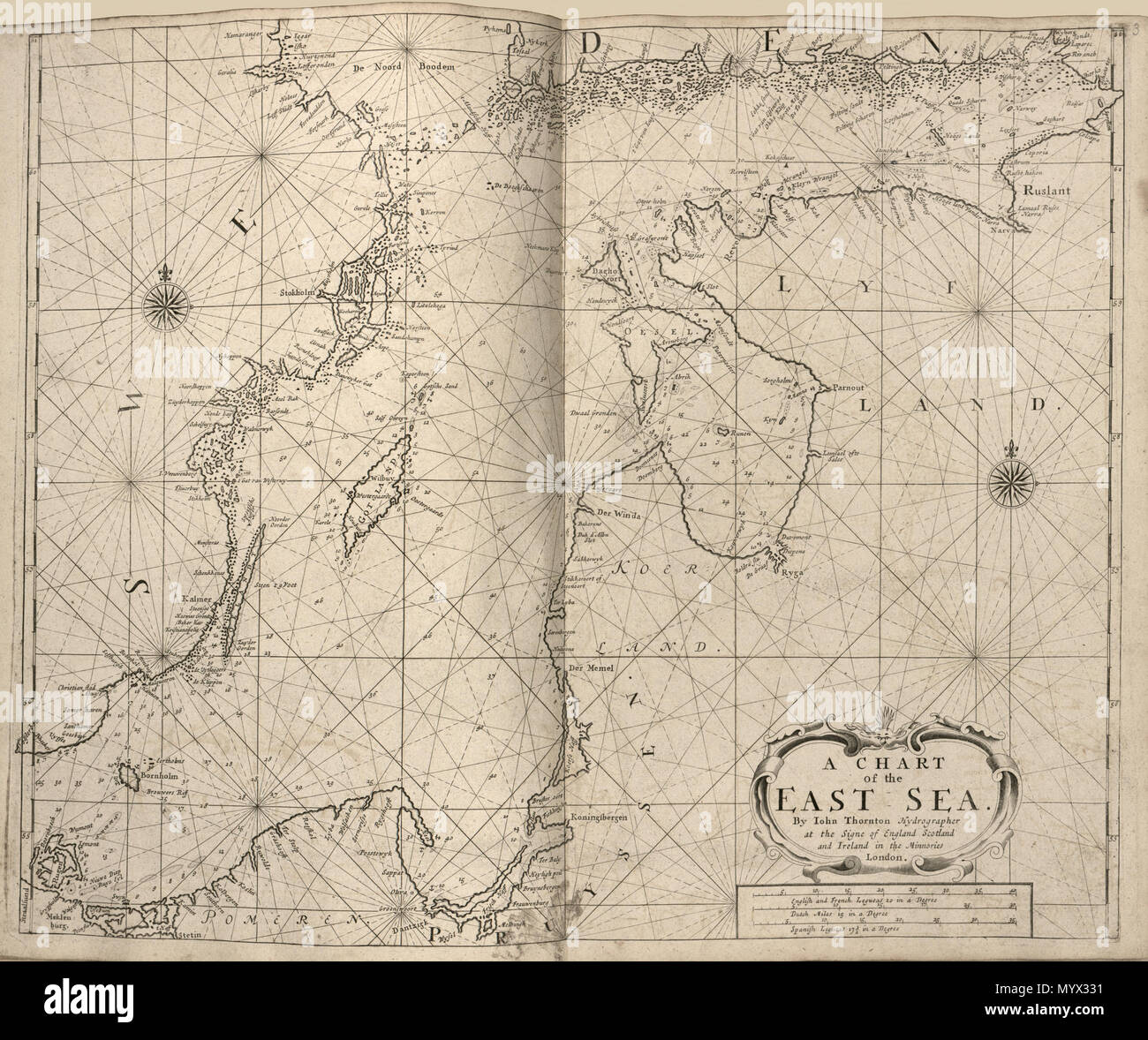 English: Relief shown pictorially on some maps  Depths shown