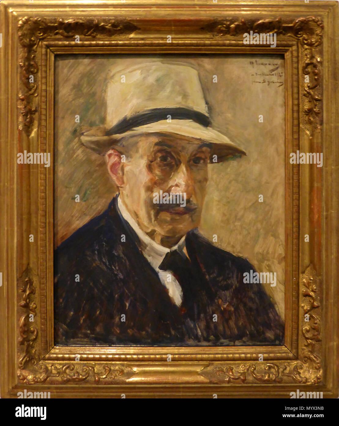 70 Max Liebermann, Selbstporträt (1929) - Stock Image