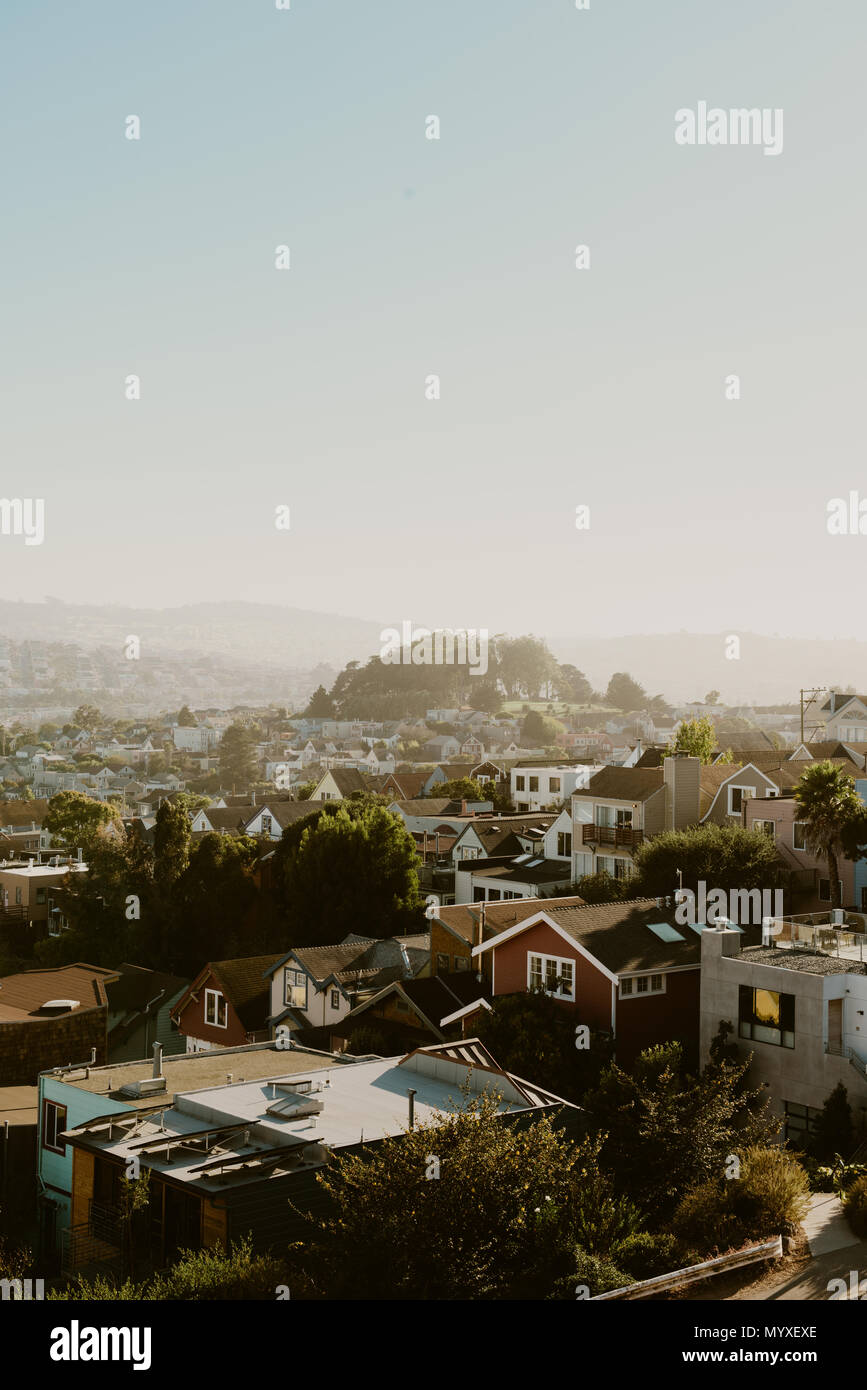 San Francisco View - Stock Image