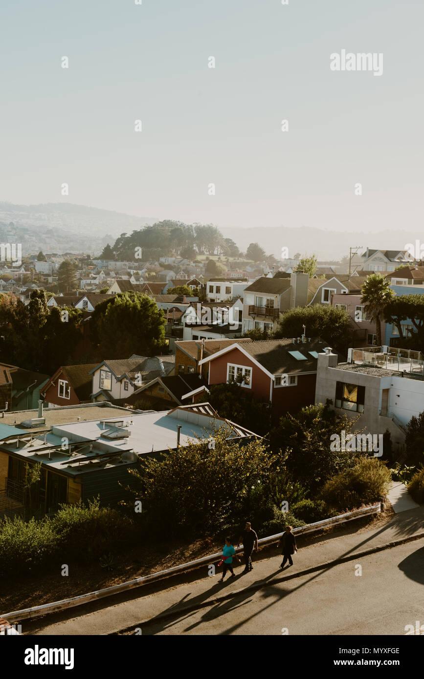 San Francisco View - Stock Image