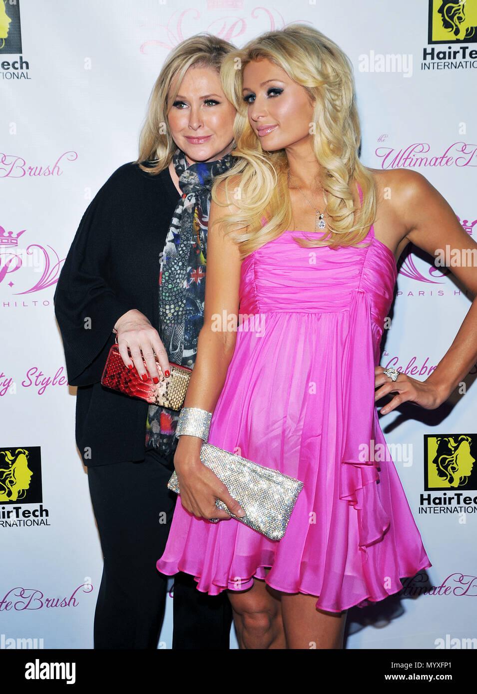 bc6b5153455f Kathy Hilton and daughter Paris Hilton - Paris Hilton s Beauty Line Launch  Party at The Thompson