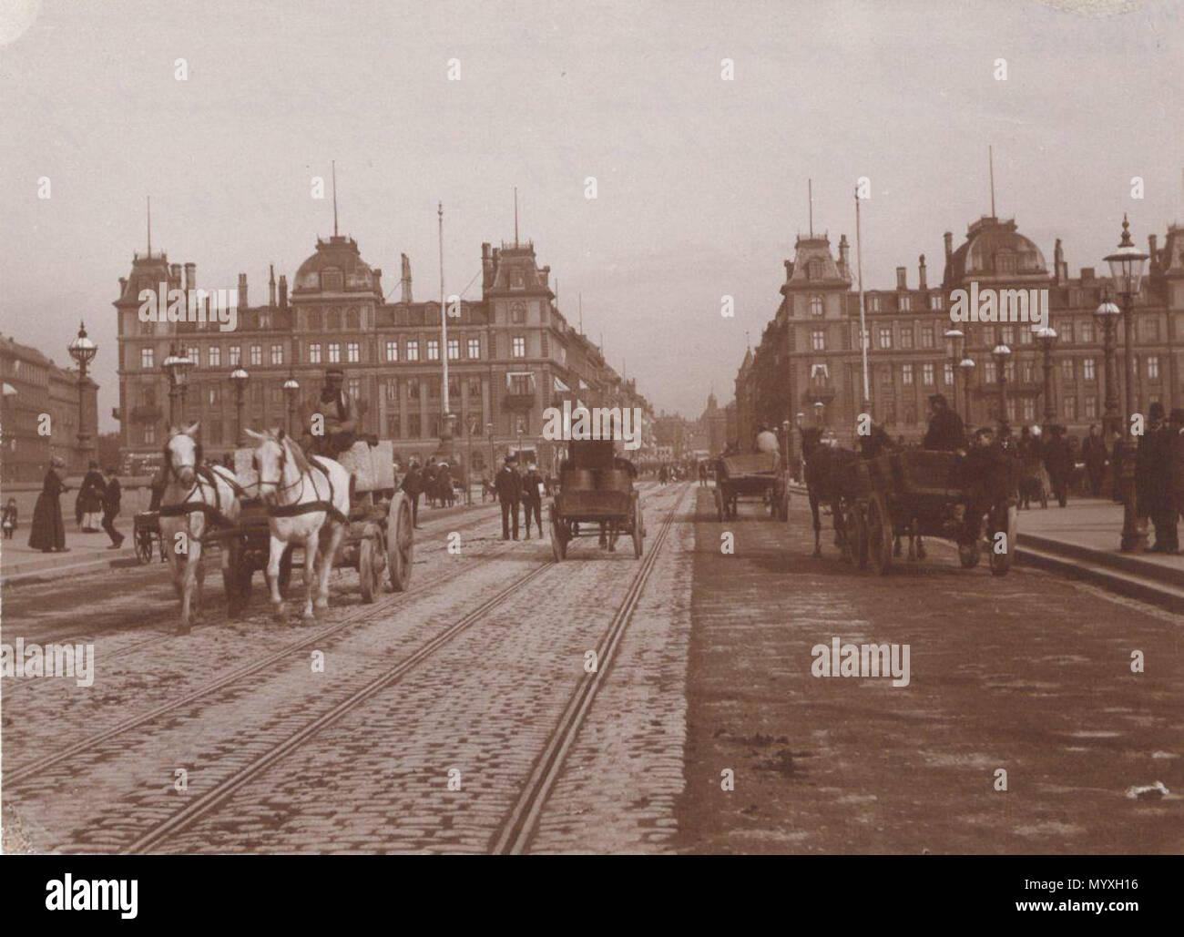 27 Dronning Louises Bro - Søtorvet 1890s - Stock Image