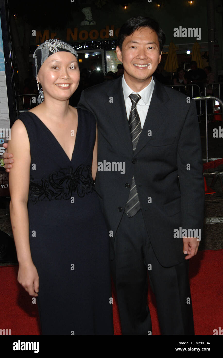Ken Jeong And Wife Tran And Kids High Resolution Stock Photography And Images Alamy