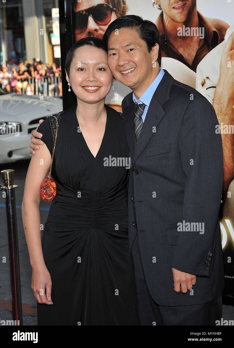 Ken Jeong And Wife Hangover Premiere At The Chinese Theatre In Los Angeles Jeongken Wife 31