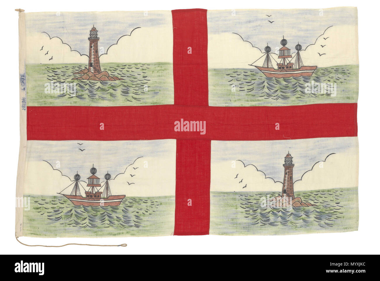 Which Island S Flag Has The St George S Cross On It