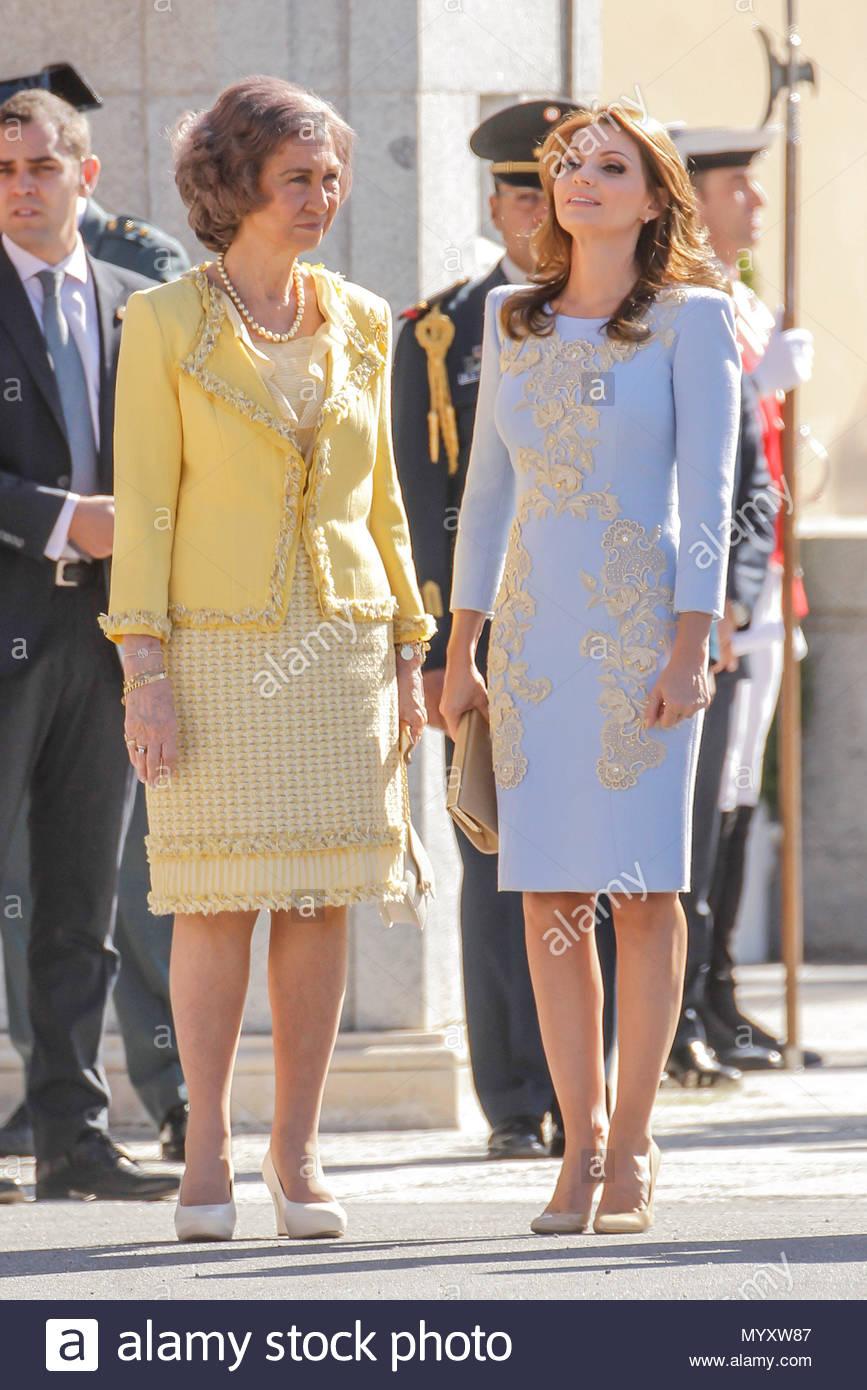 queen sofia and angelica rivera king juan carlos and queen letizia