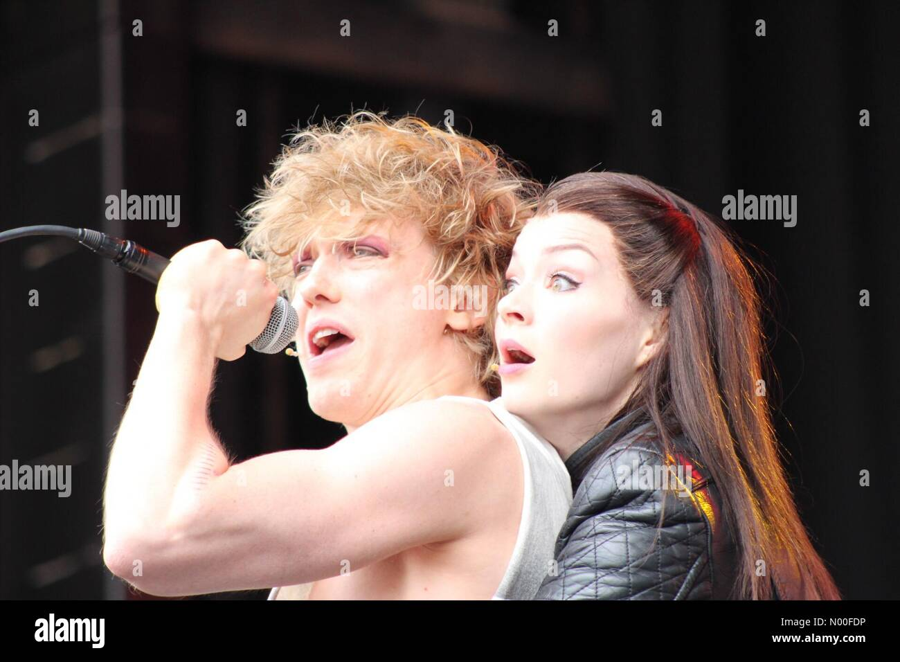 London, UK. 25th Jun, 2017. Bat Out of Hell at West End Live, Day 2. Trafalgar Square, London. 25/06 Credit: Ollie - Stock Image