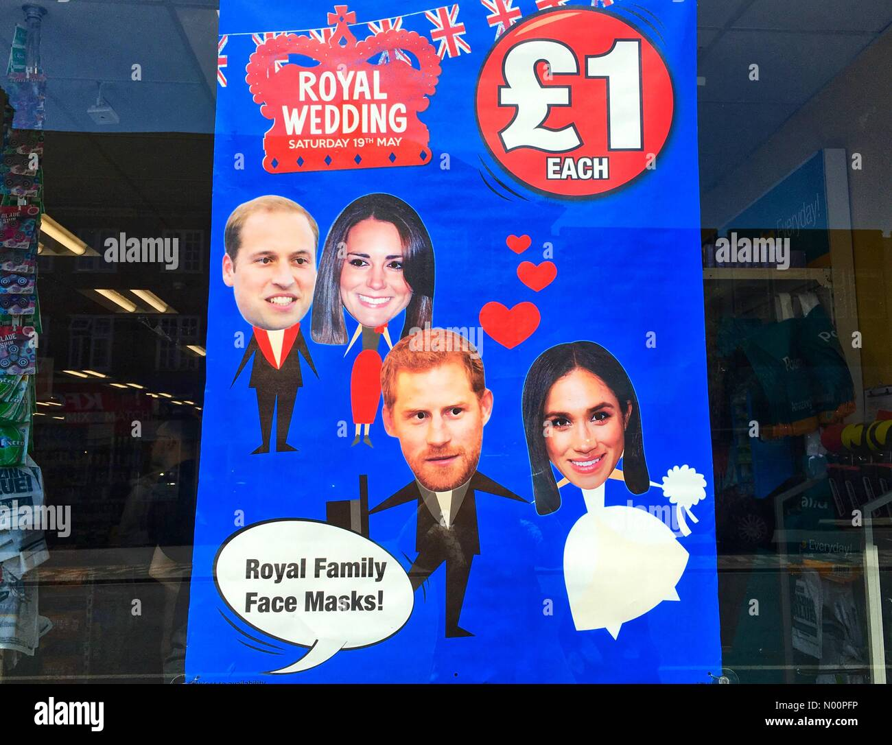 Harry And Meghan Souvenirs Stock Photos & Harry And Meghan