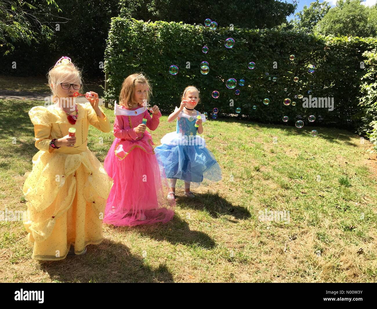 bfd01a2b8 Hampton Court, Greater London, England UK 28th July 2018 Cecily (in pink)