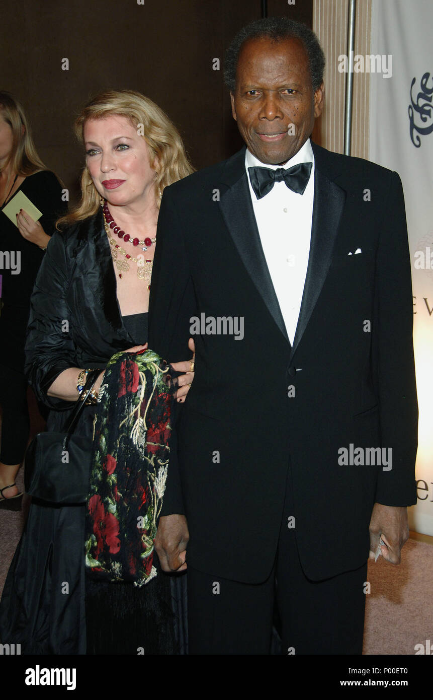 Sidney Poitier And Wife High Resolution Stock Photography And Images Alamy