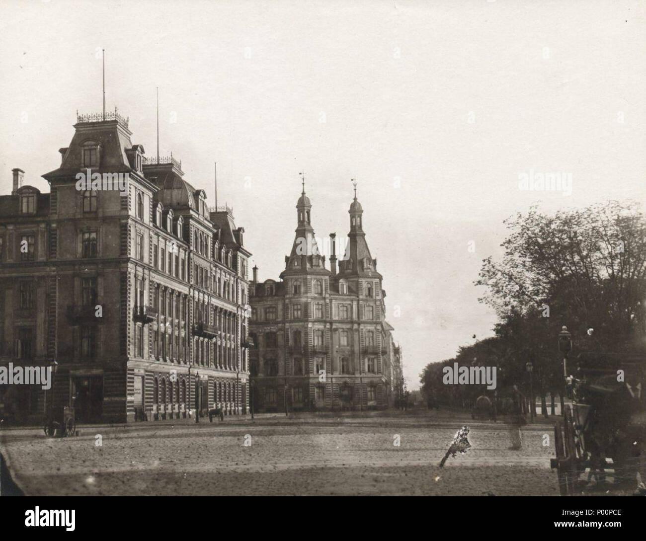 96 Søtorvet c. 1880 - Stock Image