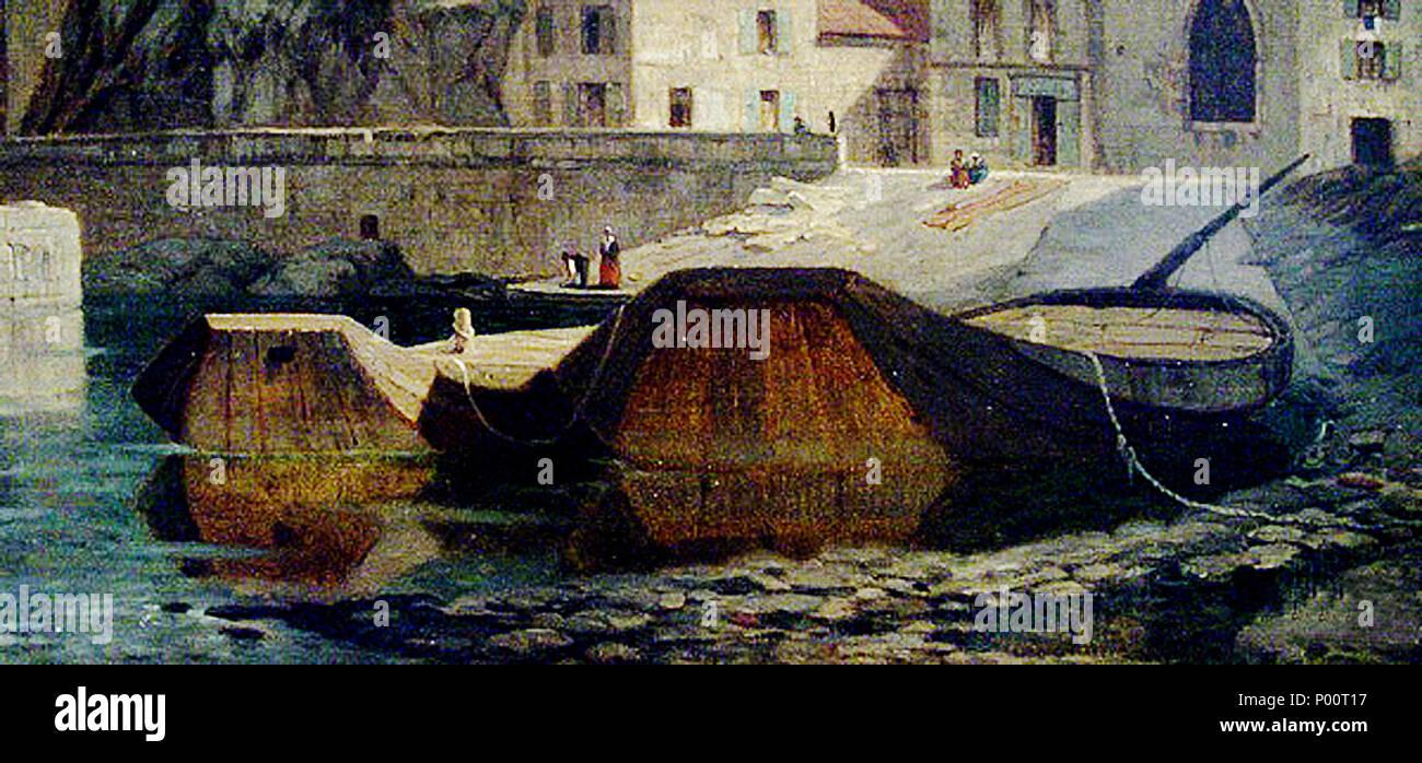 100 Tournon Deux sisselandes, XIXe s Max Monier de la Sizeranne Musée de Tournon - Stock Image
