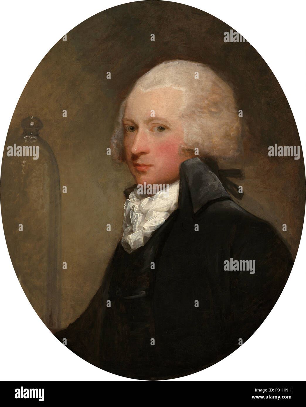 Painting; oil on canvas; overall: 76.2 x 63.5 cm (30 x 25 in.) framed: 97.2 x 84.8 cm (38 1/4 x 33 3/8 in.); 8 Dr. William Hartigan A28096 - Stock Image