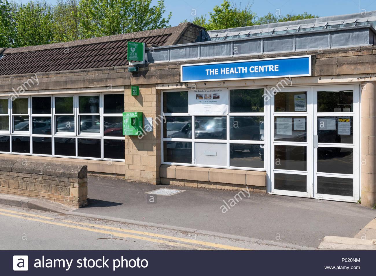 The health centre, Bradford on Avon, Wiltshire, England, UK - Stock Image
