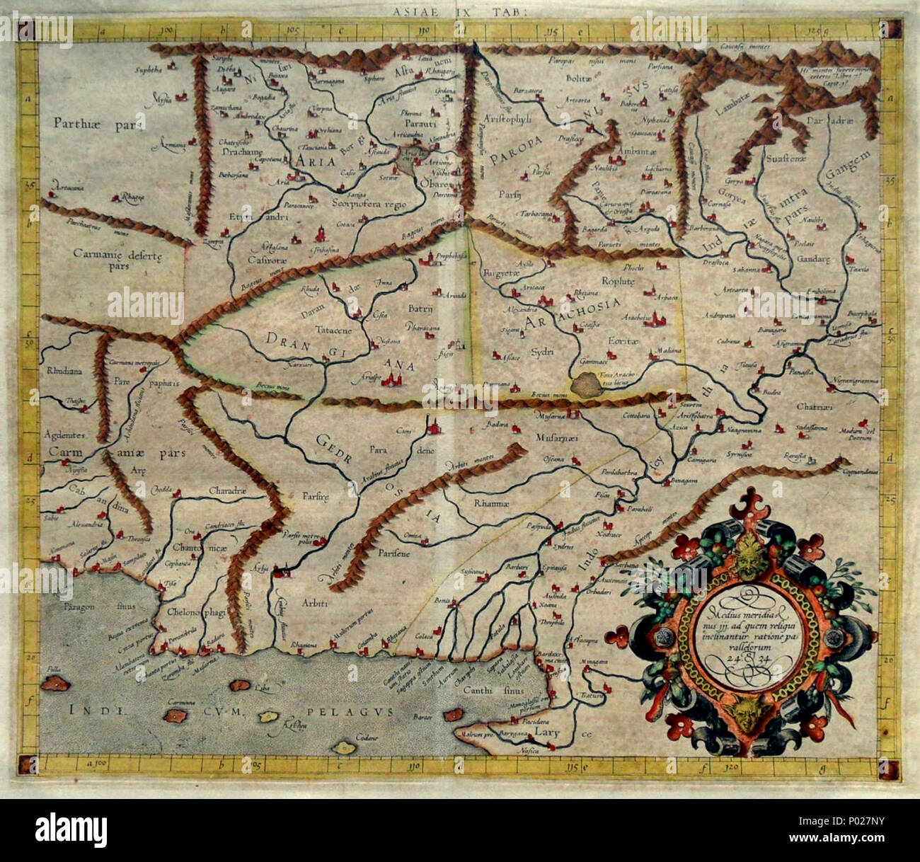 Indus River Map Stock Photos & Indus River Map Stock Images - Alamy