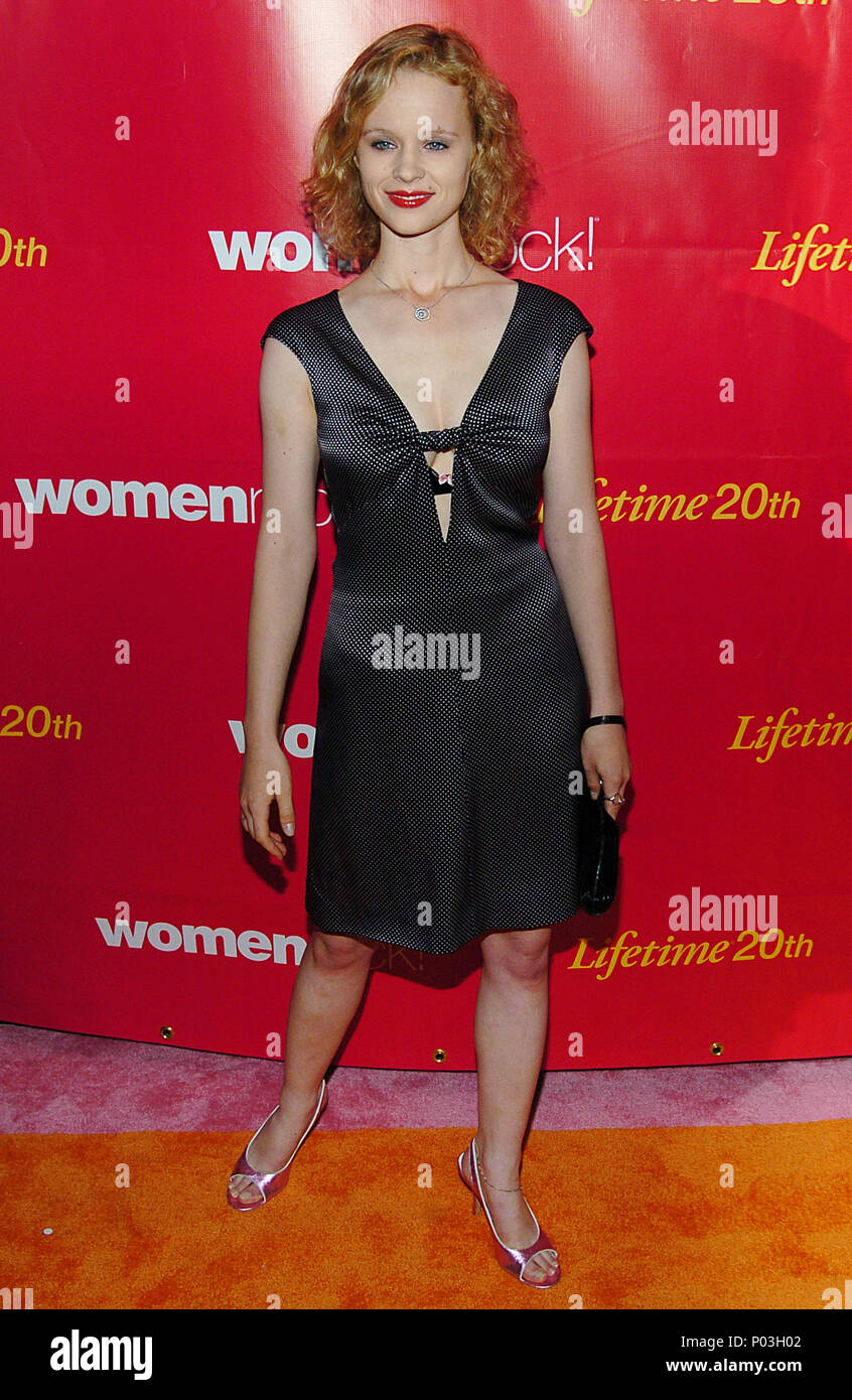 Thora Birch Arriving At The Womenrock Lifetime 5th Annual